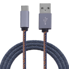 [kingstore] 2.4A Super Fast Speed Type-C Phone Tablet Charging Cable Data Sync Blue