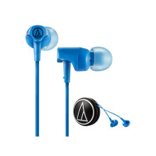 Audio Technica ATH-CLR100 Earphone Blue