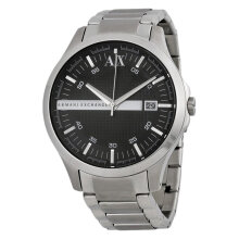 Armani Exchange AX2103 Black Dial Silver Stainless Steel [AX2103]