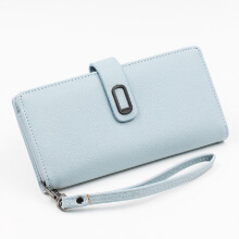 Jantens   Summer Style Wallet Women Phone Bag PU Leather Long Money Purse Chain Mobile Phone Bags Card holder