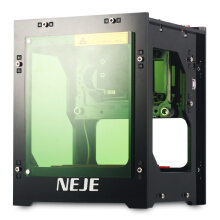 NEJE DK - 8 - KZ 1000mW High Power Laser Engraver Printer Cutter Machine  Black