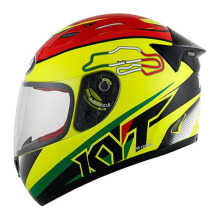 KYT RC Seven - Helm Full Face - Italy Yellow Fluo