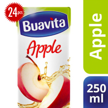BUAVITA Apple Carton 250ml x 24pcs