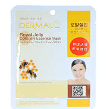 Dermal Royal Jelly Collagen Essence Mask 10pc