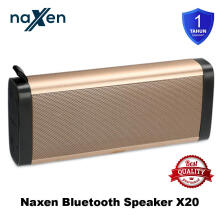 Naxen BT-X20 Speaker Bluetooth Portable Wireless Original Super Bass Gold