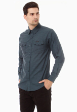COTTONOLOGY Men's Shirt Monaco Green