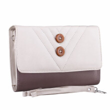GOLFER - MEN WALLET DOMPET KASUAL WANITA - GF.6311 - CREAM