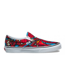 VANS Ua Classic Slip-On (Marvel) Sp - (Marvel) Spiderman/Black