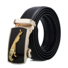 Dandali original imported Casual black face buckle men's automatic buckle belt