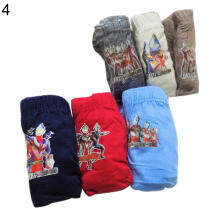 Farfi 6Pcs Kids Boys Cartoon McQueen Car Spiderman Ultraman Cotton Panties Underwear