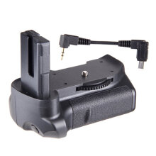 [COZIME] Travor BG-2G Vertical Battery Grip MB-D10 for Nikon D5300 D5200 D5100 Adapter Black