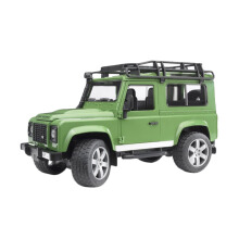 Bruder Toys 2590 Land Rover Defender Station Wagon Mainan Anak - Hijau Green