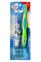 Cussons Kids Toothbrush & Toothpaste 5-7 Y Blue