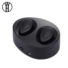 WH K2 TWS Wireless headphone Binaural Bluetooth Earphone Mini In-Ear Headset Stereo Music With Charger Box For smart phone