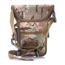 [LESHP]Outdoor Tactical Military Drop Leg Bag Panel Utility Waist Belt Pouch Black