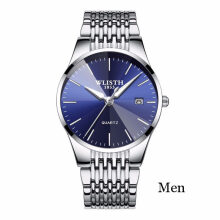 PEKY WLISTH Luxury Mens Watches Waterproof Business Watches Man Quartz Ultra-thin Wrist Watch Male Clock