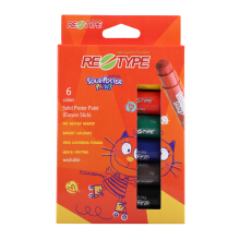 RE-TYPE Solid Poster Paint Crayon Stick SPP/6