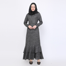 NAFEESA Nafeesa Majida Dress Hitam Allsize Black All Size