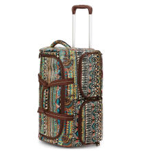 Sakroots Rolling Duffle Bag Natural One World Multicolor Others
