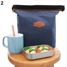 Farfi Creative Thermal Cooler Insulated Waterproof Lunch Carry Storage Picnic Bag Pouch