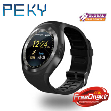 PEKY 2018 Y1 Round Screen Smart Watch Adults Wearable Devices Support SIM Card Bluetooth For Android For iOS