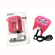 SCARLET RACING -Lampu Tembak -4 Led RGB Pink Others