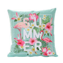Farfi Summer Flamingo Throw Pillow Case