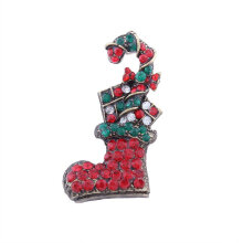 [COZIME] Christmas socks with diamond brooch Dress Accessories  Brooch Dress Multi-Colour