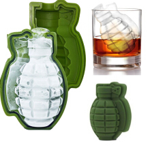 KCASA BT-100 Creative Game Grenade Shape Cocktail Whiskey Drinks Safe Silicone Ice-cream Mold