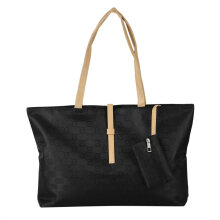 [LESHP]Women PU Leather Messenger Hobo Handbag Shoulder Bag Lady Tote Purse Satchel Black