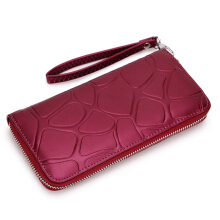 Jantens Fashion Women Wallet Paint Leather Casual Best Wallet Phone Case Portefeuille Femme Carteira Red