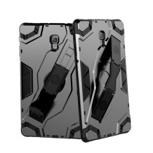 RockWolf Samsung Tab S4 10.5/T595 case TPU back clip bracket anti-wrestling shield flat set
