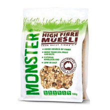 MONSTER MUESLI Hi Fibre 700gr