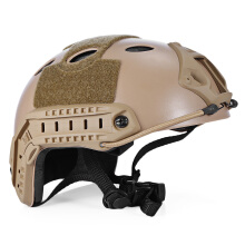Shengmeiid Lightweight Tactical Crashworthy Protective Helmet for CS Paintball Game