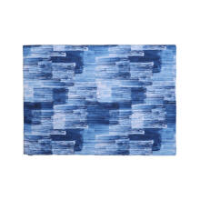GLERRY HOME DÉCOR Prussian Blue Rug - 140x100Cm