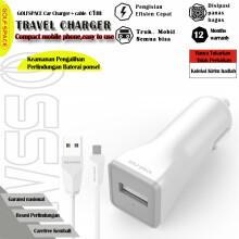 GOLFSPACE Charger G-C1-1USB with Kabel Data micro White