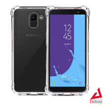 Casing Anti Crack Silicone Softcase SAMSUNG J6 2018 Shock Proof Case - Transparant