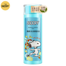 Snoopy 160ml Refreshing Hydrating Toner Lotion Deeping Cleaning Oil Balancing Moisturizing Whitening Anti Aging for Youth