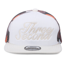 3SECOND Men Hat 0311 103111718 - White [One Size]