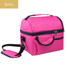 BLINGO VR11 Portable Mummy Pack Feeder Water Insulation Bag Outdoor Travel Picnic Baby Diaper Bag Waterproof Rose Red