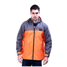 G-SHOP - MEN SWEATER JAKET HOODIES DISTRO PRIA - ADG 1415 - ORANGE SIZE- M