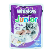 WHISKAS 85 gr kitten mackerel
