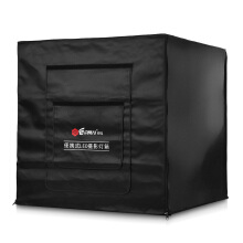 YA60 60 x 60 x 60cm Professional Portable Photo Studio Lighting Shooting Tent Box Kit  - Black