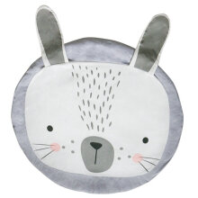 [OUTAD] Baby Sleep Game Mat Cute Animal Rabbit Crawling Pad Children Room Decoration Grey