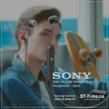 Sony WI-C300 / WI C300 / WI C 300 Wireless In-ear Headphones - Black
