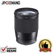 Sigma For Sony E Mount 16mm f/1.4 DC DN Contemporary GARANSI RESMI