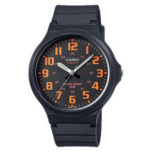 Casio General MW-240-4BVDF Black Dial Black Resin Strap [MW-240-4BVDF]