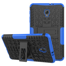 RockWolf Samsung Tab A 8.0 inch 2017/T385/T380 case TPU anti-fall colorful back clip bracket flat shell