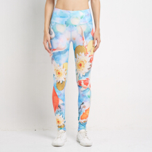 Corenation Active Koi Legging - Print Koi Blue Light Blue L