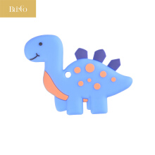 BLINGO Dinosaur baby teether silicone chewable toy teether